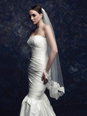 Gorgeous Tulle Lace Wedding Veil