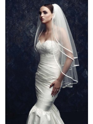 Gorgeous 3 Layer Tulle Wedding Veil