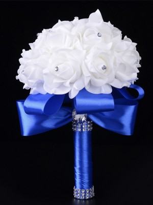 Hot Sale Round Foam Wedding Bouquets
