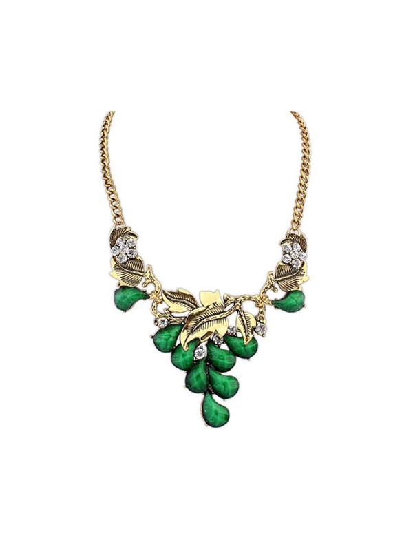 Gorgeous Occident Bohemia Willow Necklace