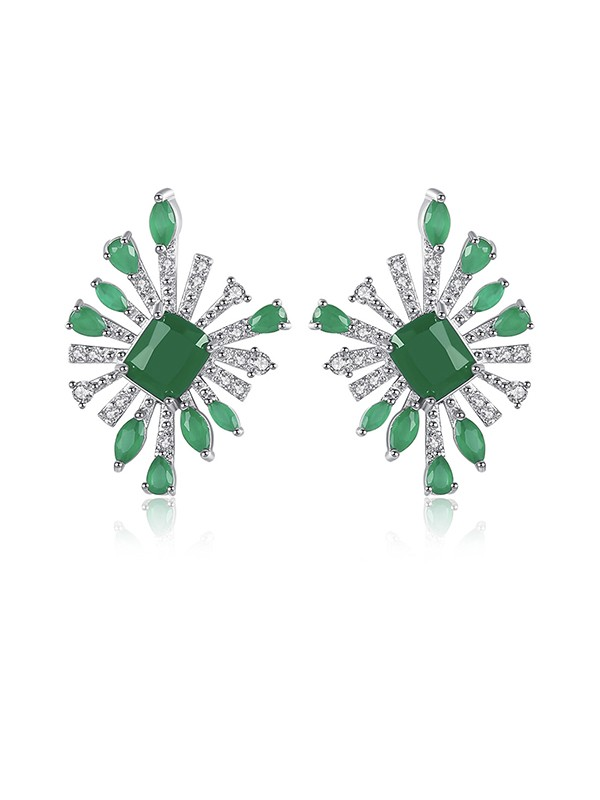 New Hot Sale Cubic Zirconia Earrings For Girls