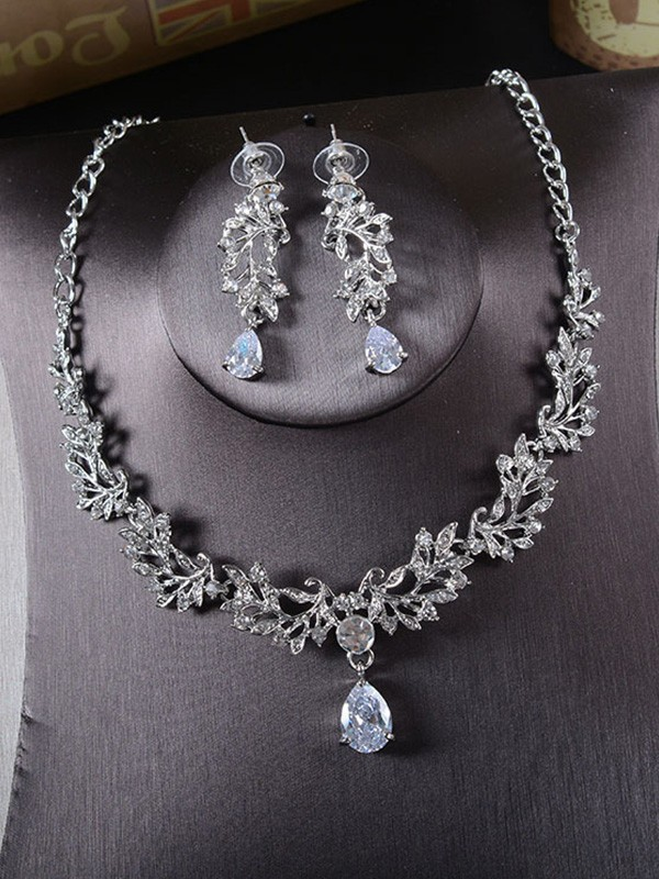 New Hot Sale Korean New Hot Sale Alloy With Rhinestone Jewelry Set
