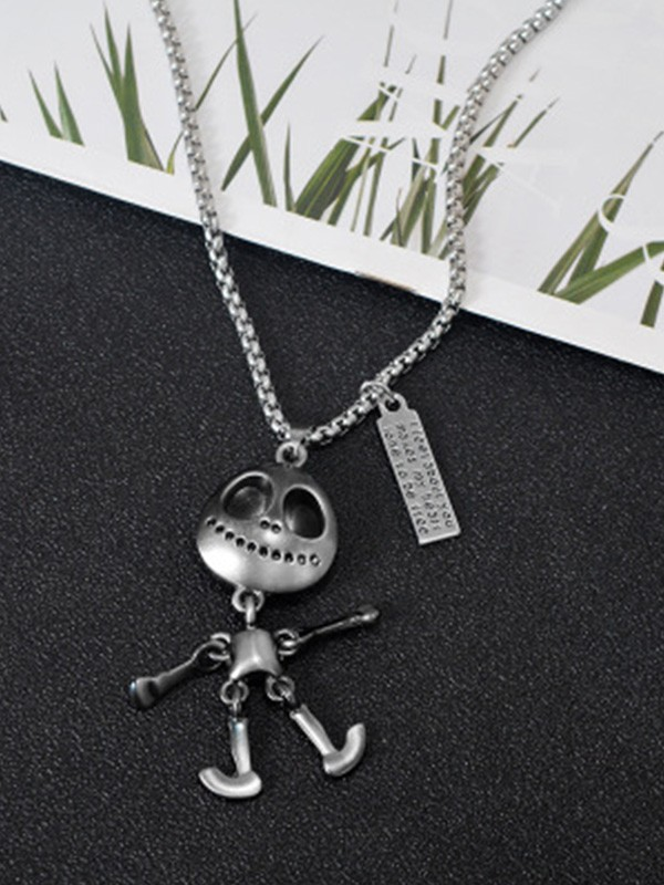 New Hot Sale Titanium Necklace With Alien