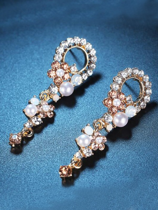 New Hot Sale Korean New Hot Sale Alloy With Rhinestone Earrings