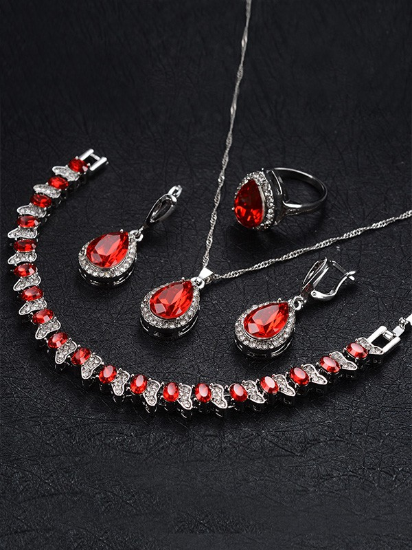 New Hot Sale Occident Alloy With Rhinestone Jewelry Set