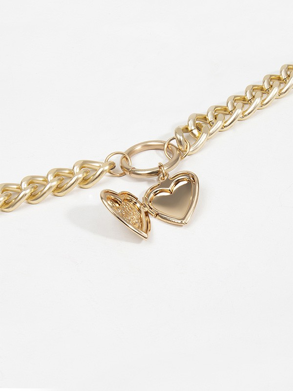 New Hot Sale Alloy With Heart Necklace