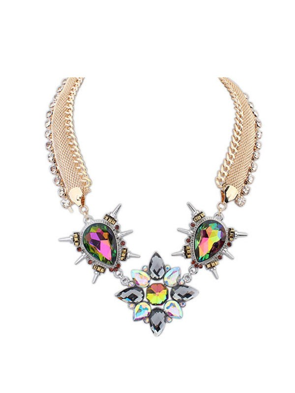Gorgeous Occident Personality Punk Hyperbolic Necklace
