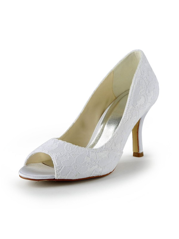 Lace Wedding Shoes Victoriagowns