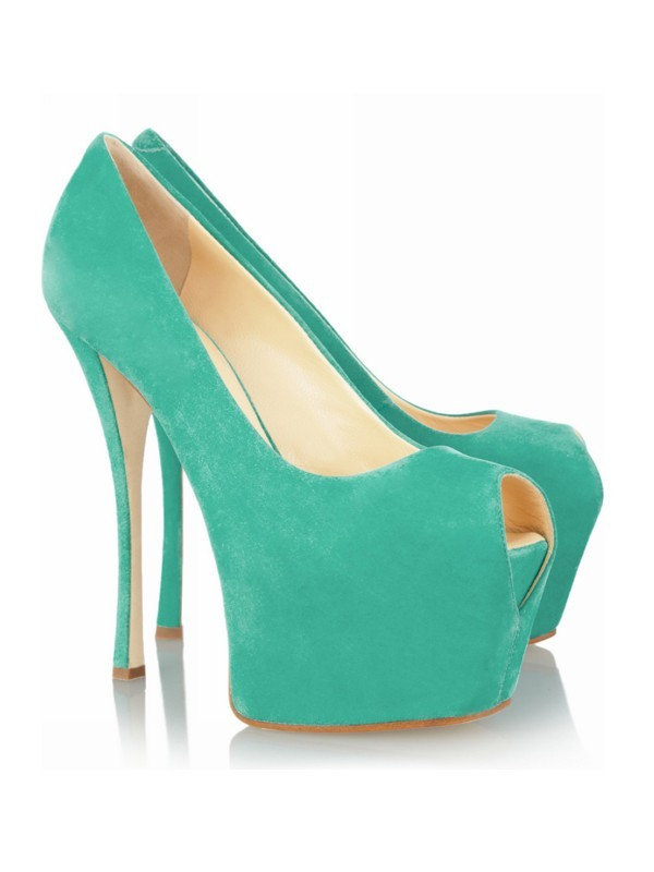 Fashion Women Stiletto Heel Peep Toe Platform High Heels