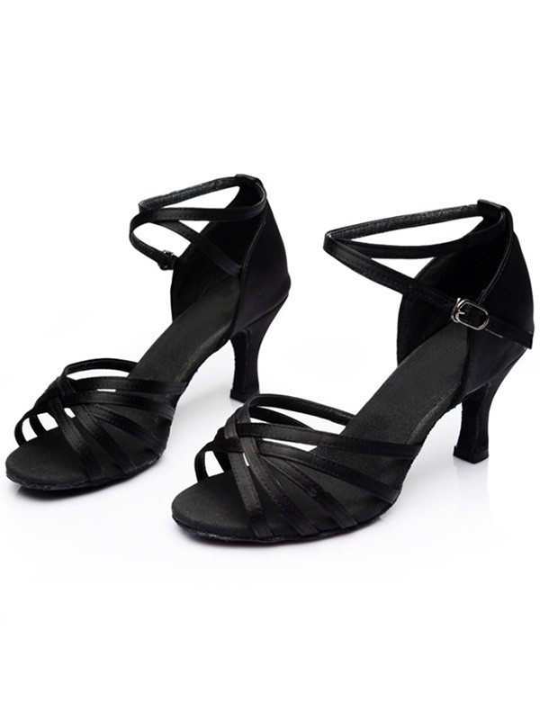 New Women Girls Leatherette Kitten Heel Peep Toe Sandals