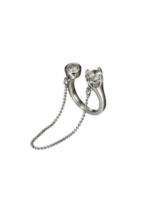 Alloy Chain Adjustable Rings