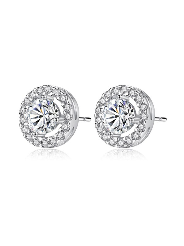 New Hot Sale Zircon With Cubic Zirconia Earrings