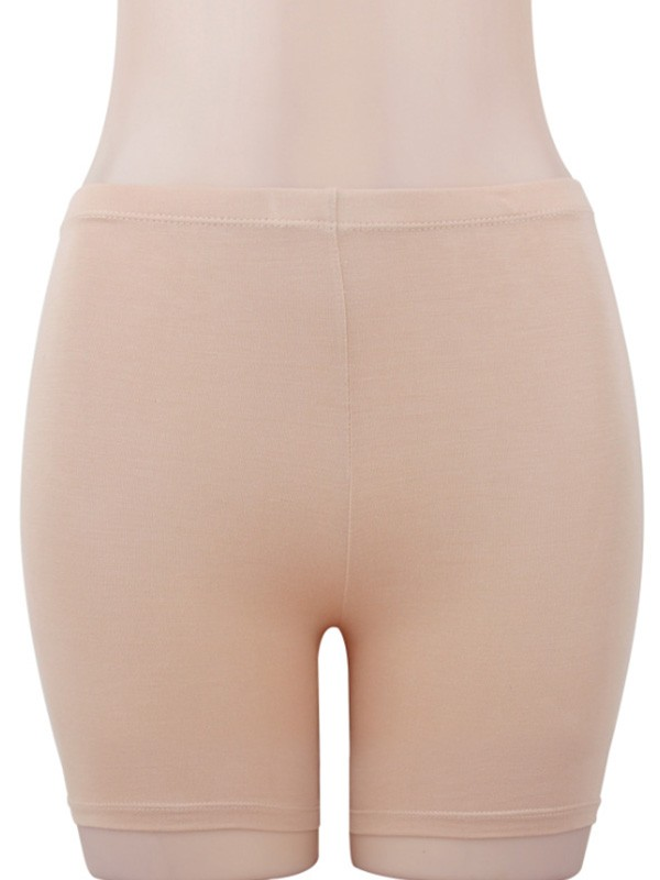 Women Modal Elastic Soft Safety Pants Shorts