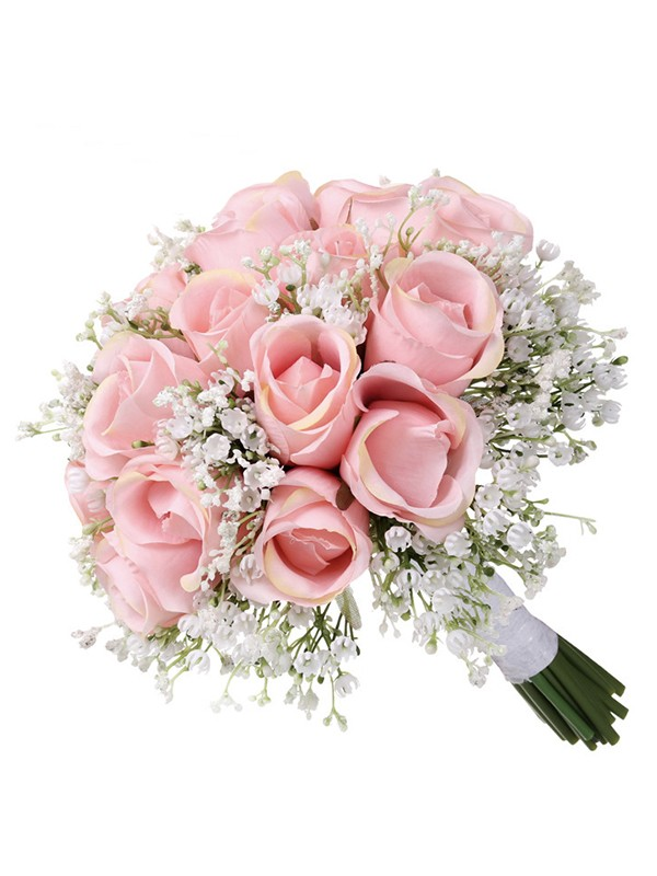 Hot Sale Round Artificial Flower Wedding Bouquets