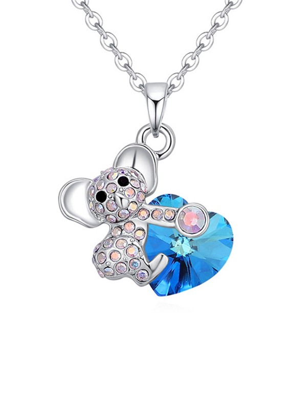 New Trends Alloy Crystal Necklace