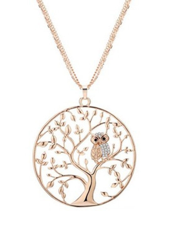 New Hot Sale Alloy Necklace With Tree