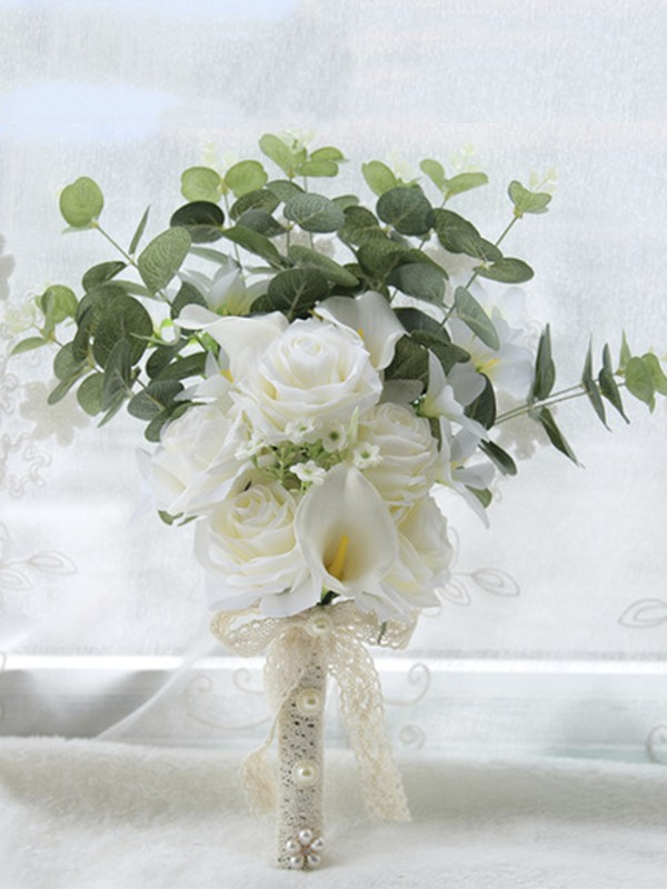 Hot Sale Free-Form Artificial Flower Wedding Bouquets