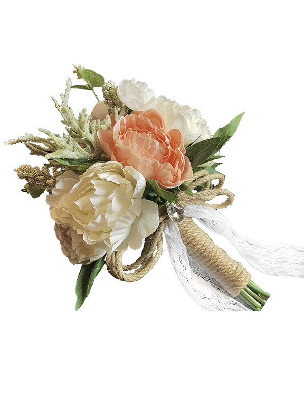 Hot Sale Free-Form Plastic Wedding Bouquets